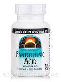 Pantothenic Acid 100 mg 100 Tablets