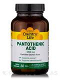 Pantothenic Acid 1000 mg - 60 Tablets