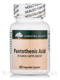 Pantothenic Acid 60 Vegetable Capsules