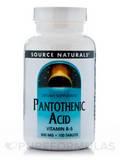 Pantothenic Acid 500 mg 100 Tablets