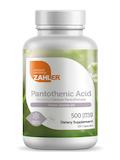 Pantothenic Acid 500 mg - 120 Capsules