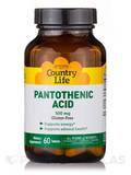 Pantothenic Acid 500 mg 60 Tablets