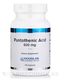 Pantothenic Acid 500 mg 100 Capsules