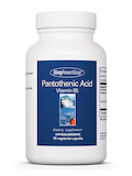 Pantothenic Acid 90 Vegetarian Capsules