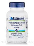 Pantothenic Acid (Vitamin B5) 500 mg 100 Capsules