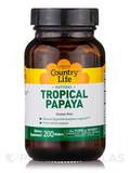 Natural Tropical Papaya - 200 Chewable Wafers