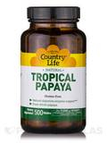 Natural Tropical Papaya - 500 Chewable Wafers