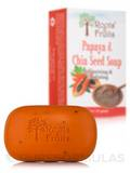 Papaya & Chia Seed Soap Bar - 5 oz (141 Grams)