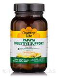 Papaya Digestive Support (Pineapple Papaya Flavor) - 200 Chewable Wafers