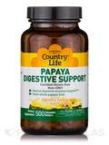 Papaya Digestive Support (Pineapple Papaya Flavor) - 500 Chewable Wafers