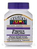 Papaya Enzyme 100 Chewable Tablets