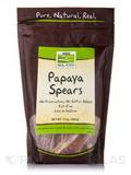 NOW® Real Food - Papaya Spears (Low Sodium) - 12 oz (340 Grams)