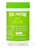 Beef Gelatin (Pasture Raised, Grass-Fed Collagen Protein) - Unflavored - 16.4 oz (465 Grams)