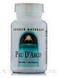 Pau D'Arco 500 mg - 100 Tablets