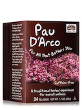NOW® Real Tea - Pau D'Arco Tea Bags - Box of 24 Packets