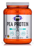 NOW® Sports - Pea Protein Natural Unflavored - 2 lbs (907 Grams)
