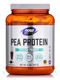 NOW® Sports - Pea Protein, Dutch Chocolate - 2 lbs (907 Grams)