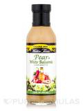 Pear & White Balsamic Vin Salad Dressing - 12 fl. oz (355 ml)