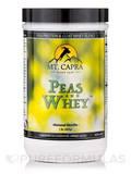 Peas and Whey™, Natural Vanilla Flavor - 1 lb (453 Grams)