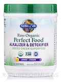 Perfect Food® RAW Alkalizer and Detoxifier Organic Powder - 10 oz (285 Grams)