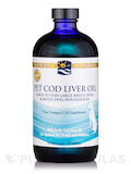 Pet Cod Liver Oil for Large to Very Large Breed Dogs & Multi-Dog Households, Unflavored - 16 fl. oz