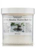 pH 9.5 Alkaline Native Bath Salts - 400 Grams