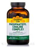 Phosphatidyl Choline Complex 200 Softgels