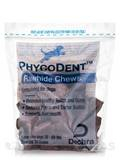PhycoDent™ Rawhide Chews - Large - For Dogs 26 - 50 lbs - 30 Count