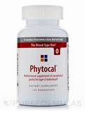 Phytocal Mineral Formula (Type O) - 120 Veggie Capsules