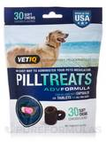 Pill Treats for all Dog Sizes, Chicken Flavor - 30 Flavored Soft Chews (5.8 oz / 164 Grams)