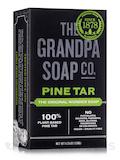Pine Tar Bar Soap Bath Size - 4.25 oz (120 Grams)
