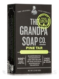 Pine Tar Bar Soap Medium Size - 3.25 oz (92 Grams)