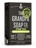 Pine Tar Bar Soap Medium Size - 3.25 oz (92 Grams)