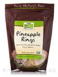NOW® Real Food - Pineapple Rings (Low Sodium) - 12 oz (340 Grams)