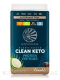 Plant-Based Clean Keto Protein Peptides, Chocolate - 1.59 lb (720 Grams)