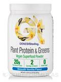 Plant Protein & Greens, Smooth Vanilla Flavor - 17.39 oz (493 Grams)