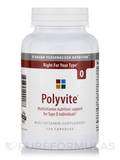 Polyvite Pro Multi-Vitamin (Type O) - 120 Veggie Capsules