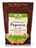 NOW® Real Food - Popcorn (Certified Organic) - 24 oz (680 Grams)