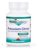 Potassium Citrate - 120 Vegetarian Capsules