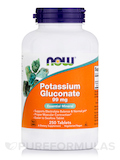 Potassium Gluconate 99 mg 250 Tablets