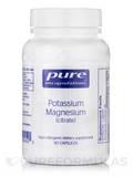 Potassium Magnesium (citrate) 90 Capsules