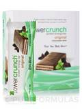Power Crunch Original Protein Energy Bar, Chocolate Mint - Box of 12 Wafer Bars