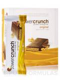 Power Crunch Original Protein Energy Bar, Peanut Butter Fudge - Box of 12 Wafer Bars