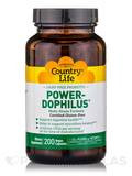 Power-Dophilus Milk Free 200 Vegetarian Capsules (F)