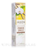 PowerSmile Antiplaque & Whitening Toothpaste Flouride-Free (Vanilla Powermint) - 6 oz (170 Grams)
