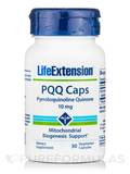 PQQ Caps with BioPQQ 10 mg 30 Vegetarian Capsules