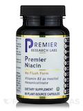 Premier Niacin (No Flush Form) - 60 Plant-Source Capsules
