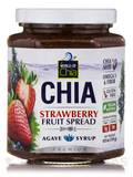 Premium Chia Strawberry Spread Sweetened with Agave Syrup - 10.9 oz (310 Grams)