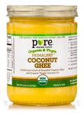 PRIMALFAT® Coconut Ghee, Virgin & Certified Organic - 14.2 oz (402 Grams)