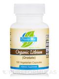 Organic Lithium - 100 Vegetarian Capsules